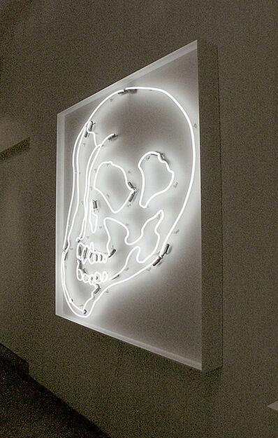 Anne-Katrine Senstad, 'White Warhol Skull SM', 2009