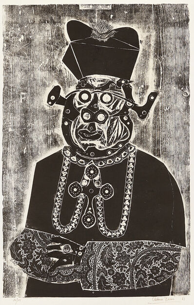 Antonio Berni, 'The Bishop', 1963