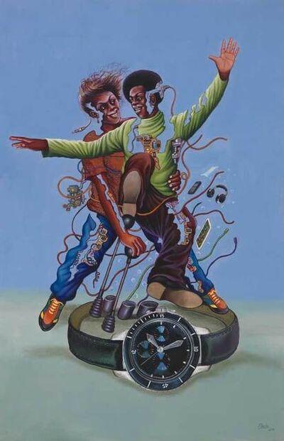 Monsengo Shula, 'Le temps c'est la vitesse', 2014
