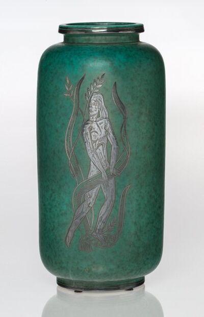 Wilhelm Kåge, 'Argenta Vase', circa 1950