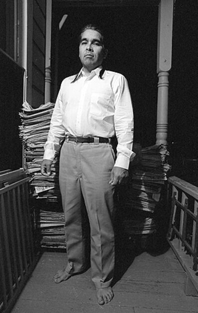 Harry Gamboa Jr., 'David Avalos, Artist', 1991