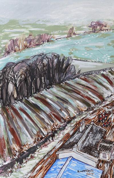 Henri Lorenzi, 'Study for Grampian Hills Sheep Farm ', 2013