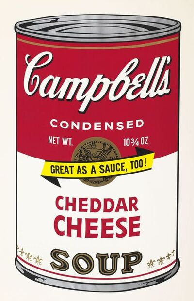Andy Warhol, 'Soup Can ll, Cheddar Cheese', 1969