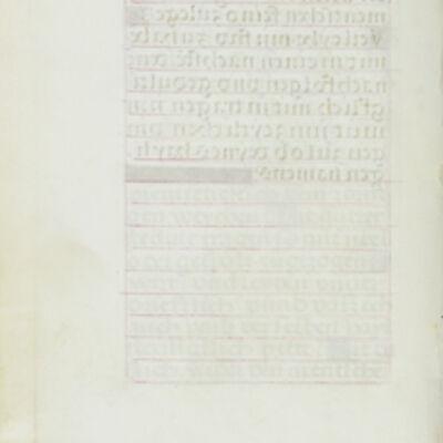 Simon Bening, 'Blank Page', 1525-1530