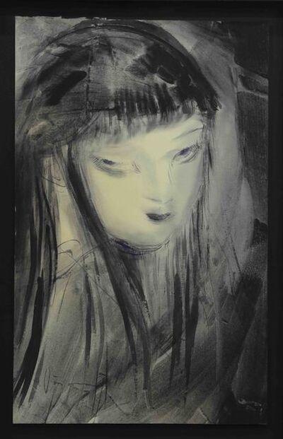 Amano Yoshitaka, 'Lady Noir 5', 2019