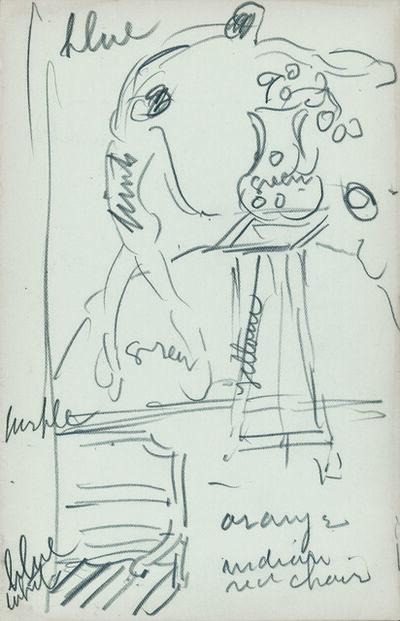 Maurice Brazil Prendergast, 'Sketchbook 21', 1913