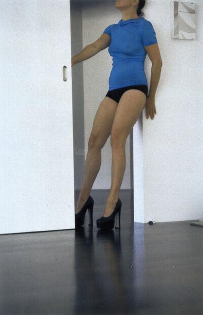 Thomas Grünfeld, 'Heimspeil/N°0010 Door', 1999