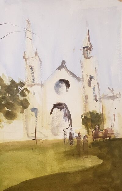 Yolanda Gonzalez, 'San Francisco Church', 2017
