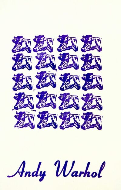 Andy Warhol, 'Purple Cows - FS II.17A', 1967