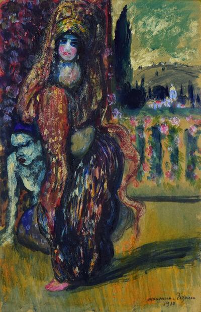 George Manzana-Pissarro, 'L'Orientale Debout', 1910