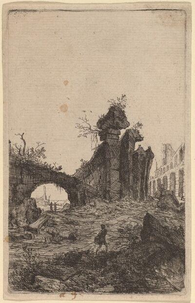 Bartholomeus Breenbergh, 'The Ruins of the Colosseum'