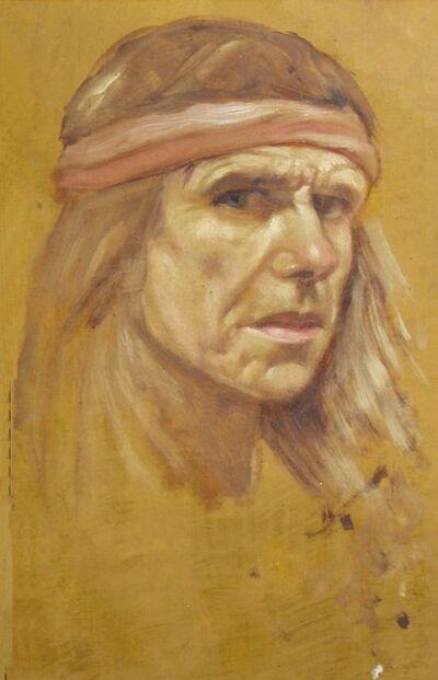 Anthony Christian, 'Self Portrait Sketch', 1993