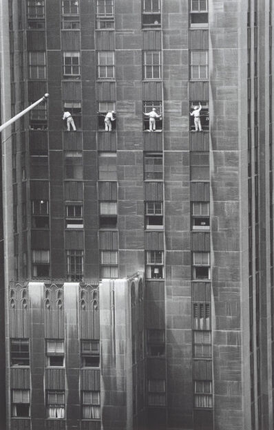 Inge Morath, 'Window washers', 1956