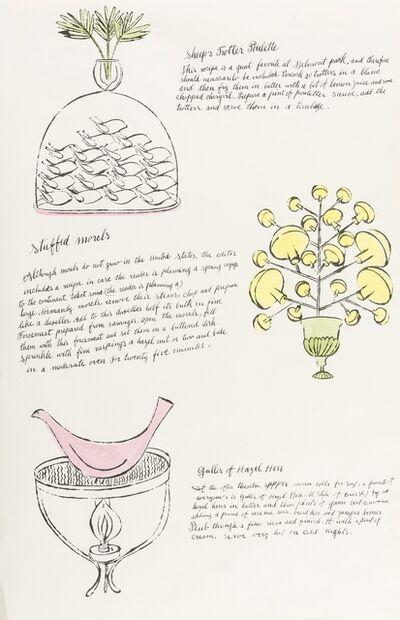 Andy Warhol, 'One Plate (from Wild Raspberries) (see Feldman & Schellmann IV.142.A)', 1959