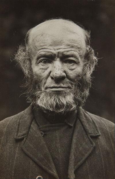 August Sander, 'Bauer Aus Schabernack, Westerwald', 1912