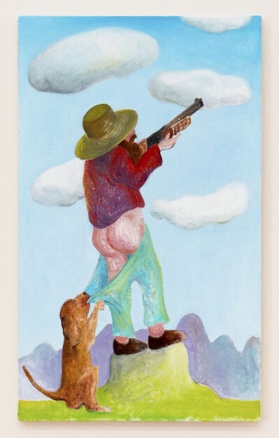 André Ethier, 'Hunter and Dog', 2020