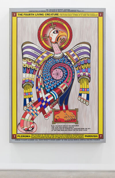 Paul Laffoley, 'The Fourth Living Creature', 1975