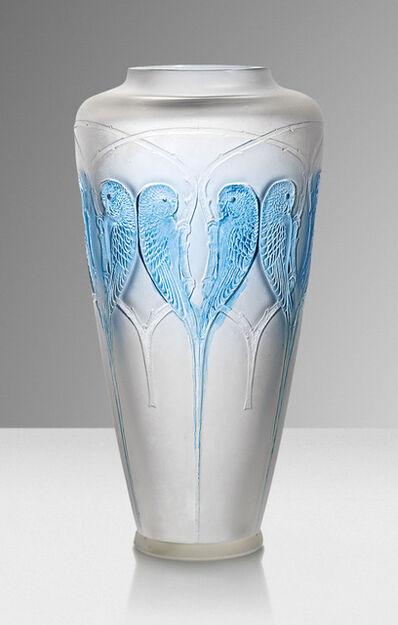 René Lalique, ''Inséparables', a vase, no. 1296', designed 1919