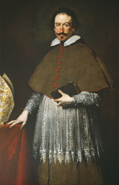 Bernardo Strozzi, 'Bishop Alvise Grimani', 1633 or after