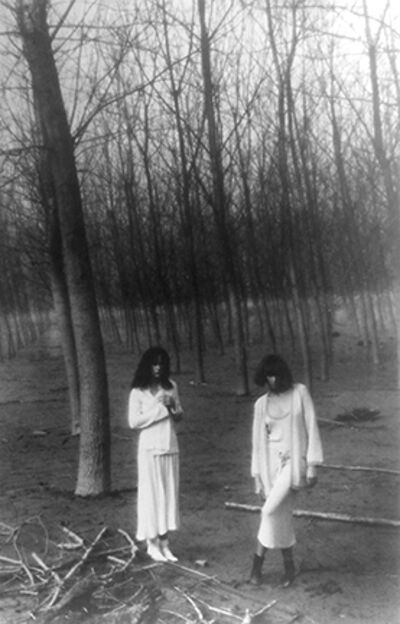Deborah Turbeville, 'Women In The Woods, VOGUE Italia, Montova, Italy', 1977
