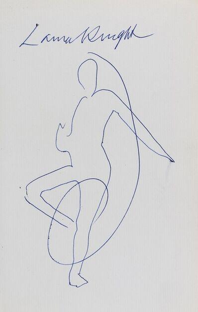Dame Laura Knight DBE RA RWS, 'The Magic of a Line', 1965