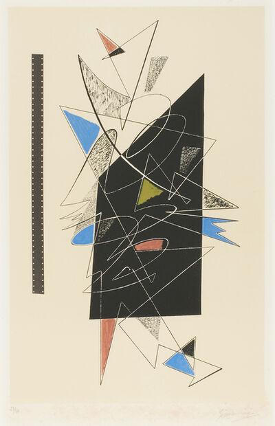 Gino Severini, 'Manifesto della personale dell'artista alla Galerie Lucie Weill di Paigi', 1963