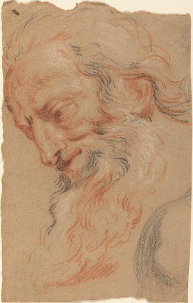 Antoine Coypel, 'Head of an Old Man', ca. 1716