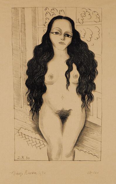 Diego Rivera, 'Desnudo de Lola Olmedo (Lola Olmedo Nude)', 1930