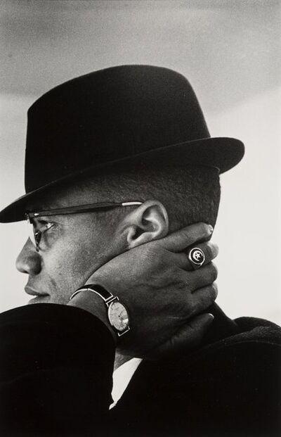 Eve Arnold, 'Malcom X, Chicago', 1961