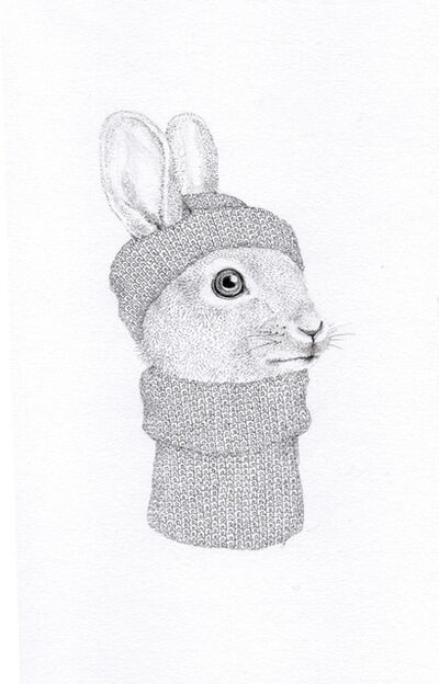 Jackie Case, 'Little Knitted Bunny', 2017