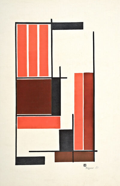 Georges Folmer, 'Composition, encre', 1951