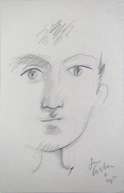 Jean Cocteau, 'Portrait of A Boy', 1950