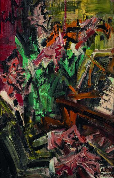 Gen Paul, 'Les Joueurs de Jazz'