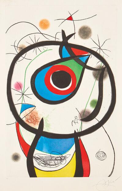 Joan Miró, 'Galathée (Galathea) (D. 931)', 1976