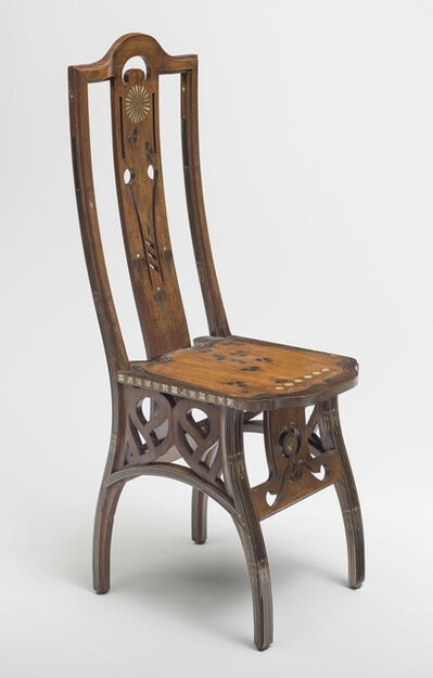 Eugenio Quarti, 'Chaise (Chair)', c. 1898