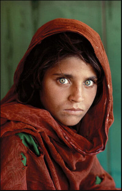 Steve McCurry, 'Sharbat Gula (Afghan Girl)', 1994
