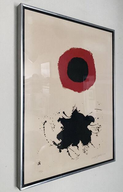 Adolph Gottlieb, 'Red Halo-White Ground', 1966