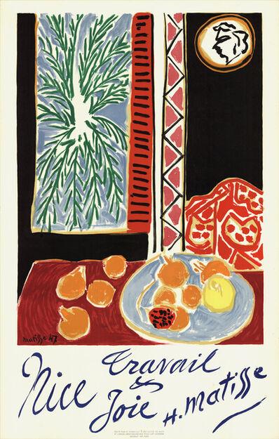Henri Matisse, 'Nice, Travail et Joie', 1948