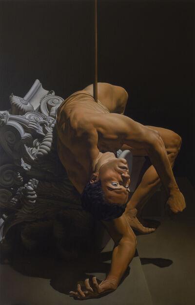 Nicola Verlato, 'Hector killed by Achilles', 2020