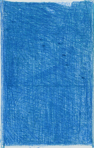 John Zurier, 'Blue-green softground', 2016