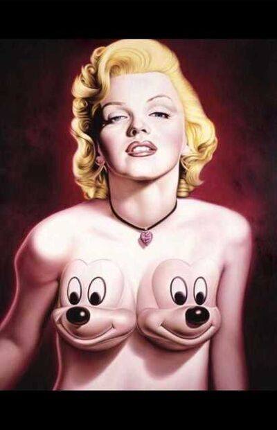 Ron English, 'Marilyn with Mickeys', Contemporary