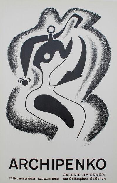 Alexander Archipenko, 'Le sculpteur (The Sculptor)', 1962