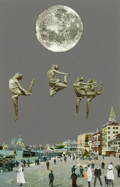Peter Blake, 'Inkjet on canvas - Venice- Dancing Over Venice', 2013