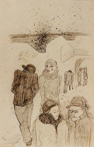 Bruno Voigt, 'Madame Merzenich', 1931