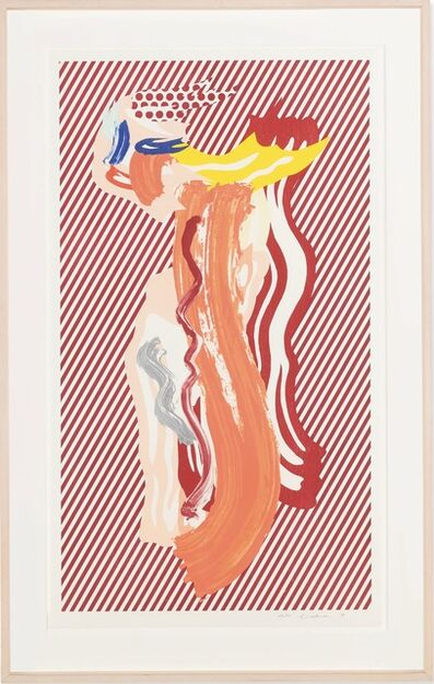 Roy Lichtenstein, 'Nude from Brushstroke Figures Series', 1989