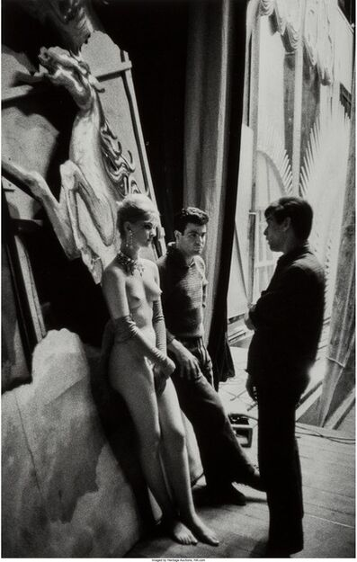 Jean-Philippe Charbonnier, 'Backstage at the Folies Bergeres', 1960
