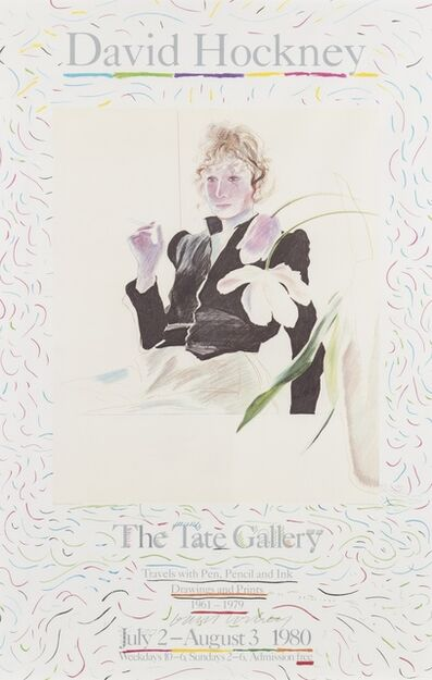 David Hockney, 'Celia. Poster for The Tate Gallery', 1980