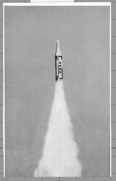 Heinz Mack, 'Illustration from ZERO Vol. 3', 1961