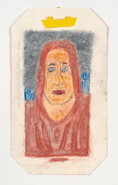James Castle, 'Untitled (Woman's head)', n.d.
