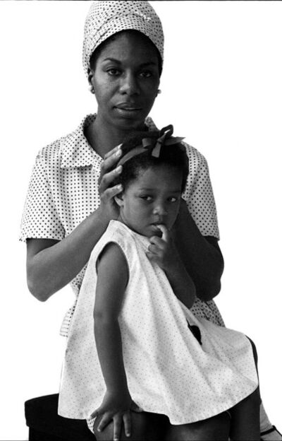 Brian Duffy, 'Nina Simone & daughter ', 1966